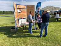 2018 Booth at Breton Farmers Day